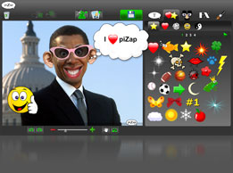 free funny pizap photo online editor